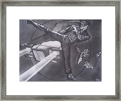 Bruce Lee Is Kato   1 Framed Print by Sean Connolly