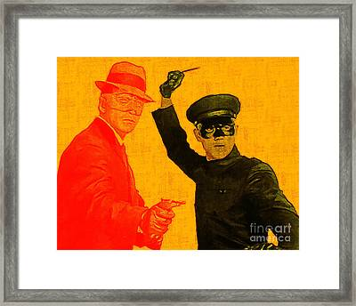 Bruce Lee Kato And The Green Hornet 20130216 Framed Print