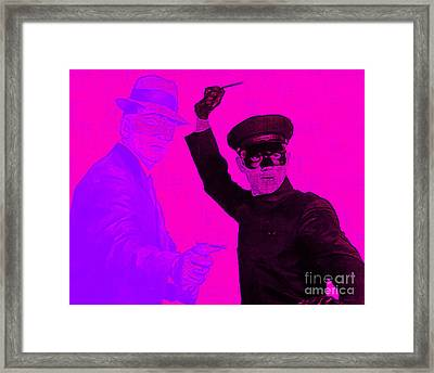 Bruce Lee Kato And The Green Hornet 20130216m88 Framed Print
