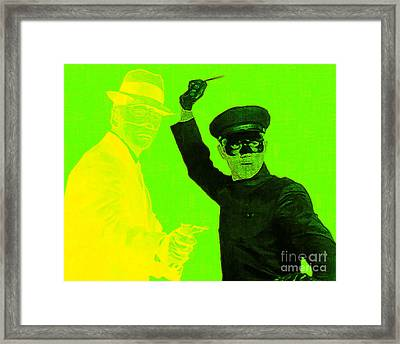 Bruce Lee Kato And The Green Hornet 20130216p54 Framed Print by Wingsdomain Art and Photography