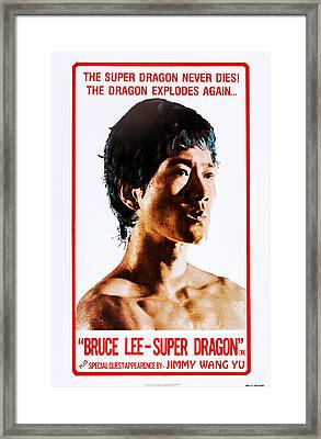 Bruce Li, Super Dragon, Us Poster Art Framed Print