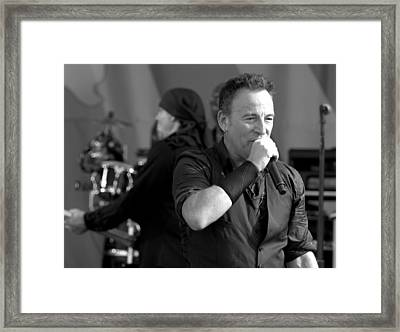 Bruce Springsteen 10 Framed Print