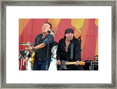 Bruce Springsteen 6 Framed Print
