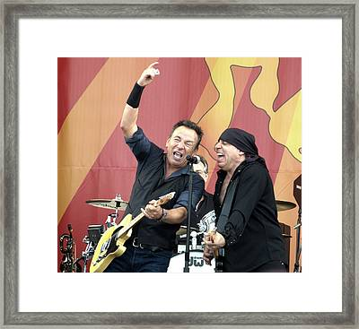 Bruce Springsteen 8 Framed Print