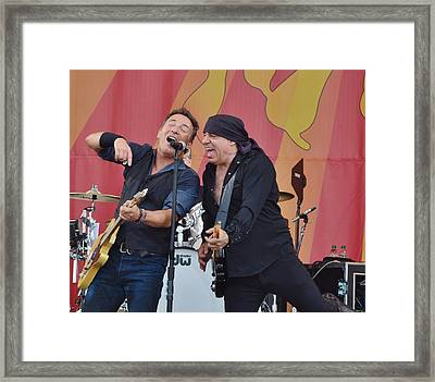 Bruce Springsteen 9 Framed Print