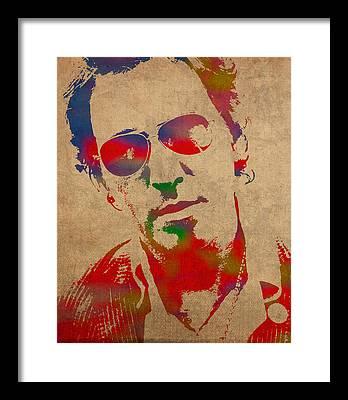 Bruce Springsteen Framed Prints