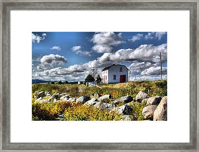 Brud's Place Renews Nl Framed Print by Douglas Pike