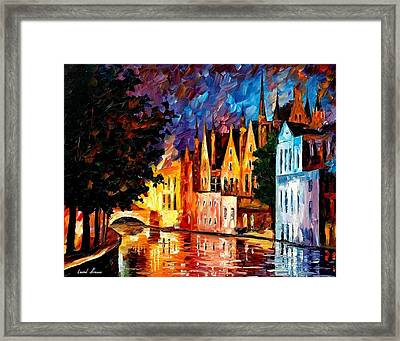 Bruges - Northern Venice Framed Print