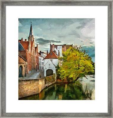 Brugge 2 Framed Print