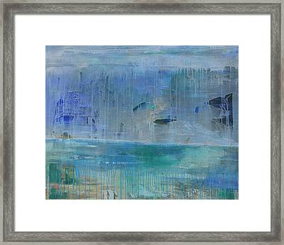 Brumal Beach Framed Print by Paul Ashby