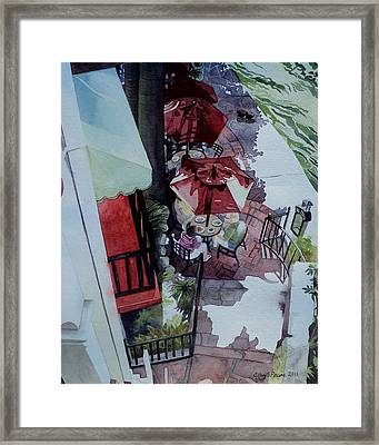 Brunch In San Antonio Framed Print