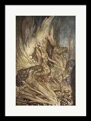 Sacrifice Drawings Framed Prints