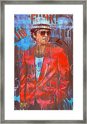 Bruno Mars - Uptown Funk 7 Framed Print