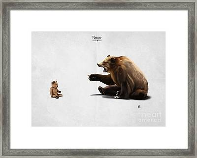 Brunt Framed Print by Rob Snow