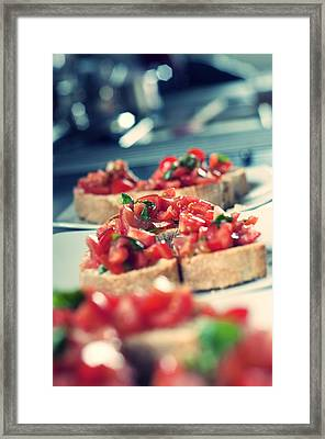 Bruschetta  Framed Print