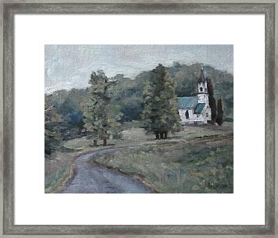 Brush Creek Church Framed Print