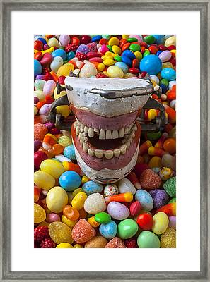 Brush Your Teeth Framed Print by Garry Gay