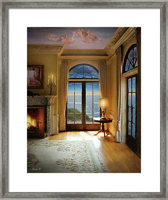 Brushed With Heavens Touch Framed Print
