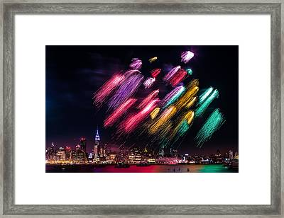 Brushes Framed Print by Mihai Andritoiu