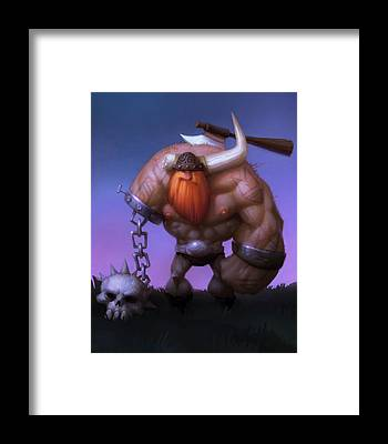 Barbarian Framed Prints