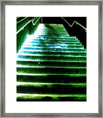 Brutal Basement Memories Three Framed Print by Sir Josef - Social Critic - ART