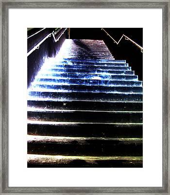 Brutal Basement Memories Two Framed Print by Sir Josef - Social Critic - ART
