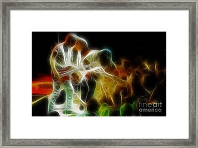 Bryan Adams-neighbors-ge5-fractal Framed Print by Gary Gingrich Galleries