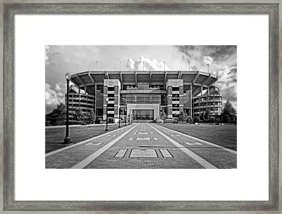Bryant Denny Stadium 2011 Framed Print by Ben Shields