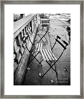 Bryant Park  Framed Print by Rebekah Wilson