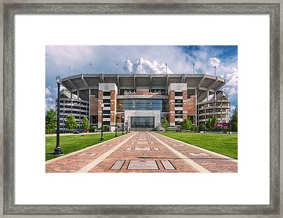 Bryant Denny Stadium Framed Print by Ben Shields