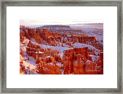 Bryce Canyon - 11 Framed Print