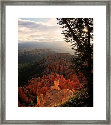 Bryce Canyon Early Morning View Framed Print