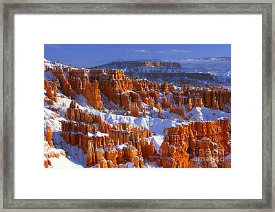 Bryce Canyon In Winter Framed Print