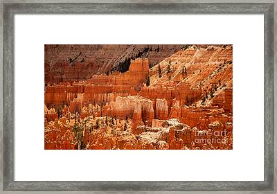 Bryce Canyon Landscape Framed Print by Jane Rix