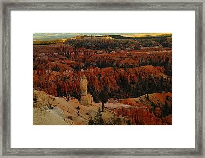 Bryce Canyon Near Sundown Framed Print