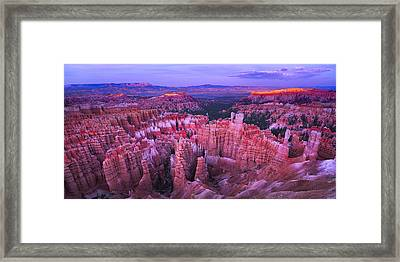 Bryce Canyon Overlook II Framed Print