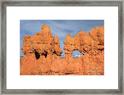 Bryce Canyon Peephole Framed Print