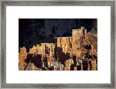 Bryce Canyon Steps Framed Print