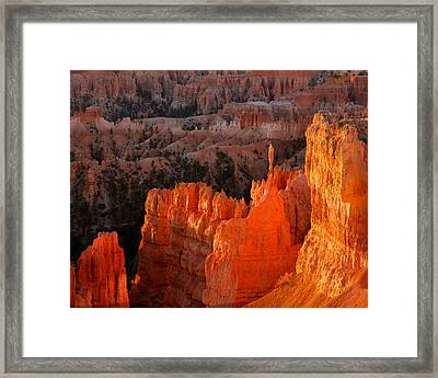 Bryce Canyon Sunrise Framed Print