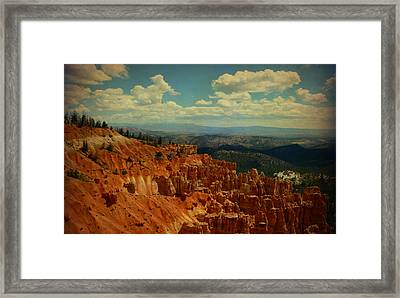 Bryce Canyon  Framed Print by Terry Eve Tanner