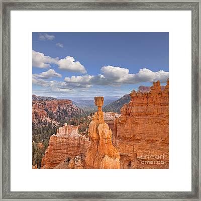 Bryce Canyon Utah Usa Framed Print