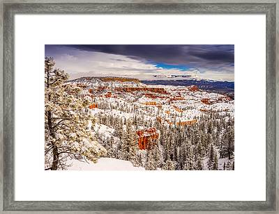 Bryce Canyon Winter Framed Print