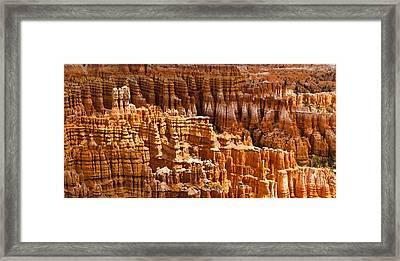 Bryce Hoodoos Framed Print by Adam Pender