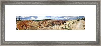 Bryce Panoramic Framed Print
