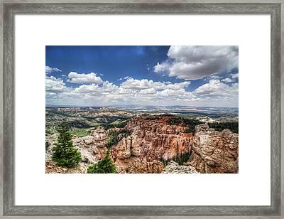 Bryce Point Framed Print by Tammy Wetzel