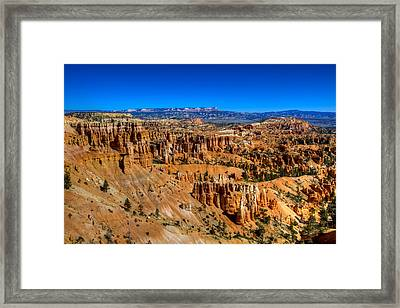 Bryce's Glory Framed Print by Chad Dutson