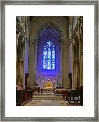 Bryn Athyn Cathedral Altar Framed Print