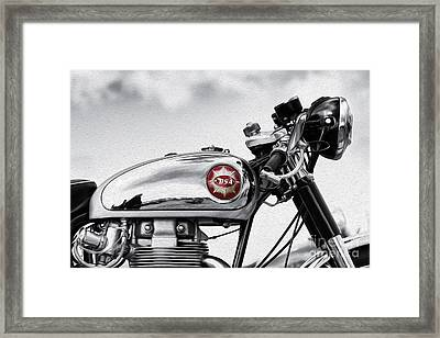 Bsa Goldstar Framed Print by Tim Gainey
