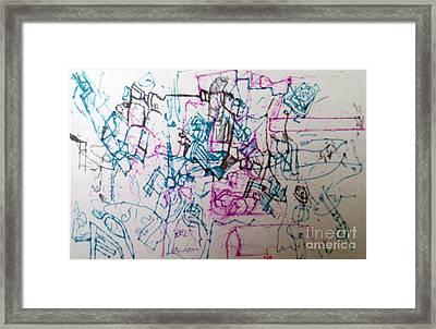 bSeter Elyon 13 Framed Print by David Baruch Wolk