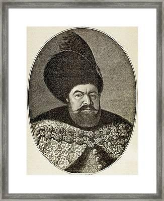 B?thory, Stephen I (1533-1586 Framed Print by Prisma Archivo